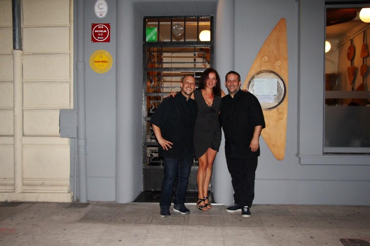 Côte d'Azur, French Riviera, Nice, restaurant Flaveur, Mickaël et Gaël Tourteaux, Amélie,deux étoiles Michelin.