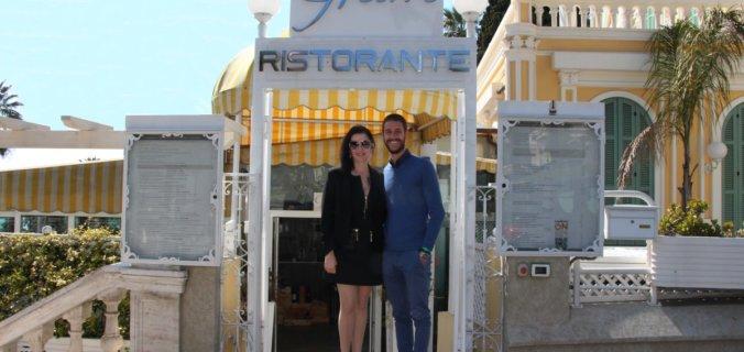 Riviera dei Fiori, San Remo, restaurant Glam