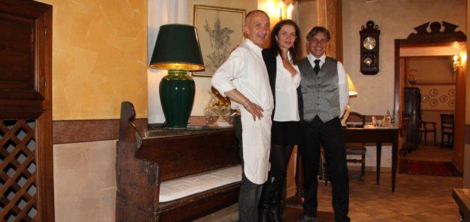 Italie, Piémont, Cuneo, restaurant San Michele