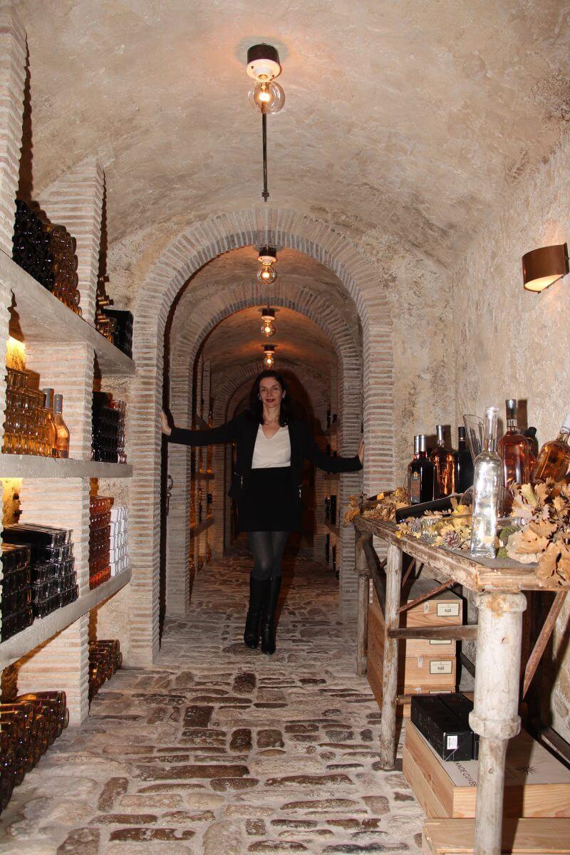 France, Provence, Haut Var, Dracénie, Château de Berne, Amélie.