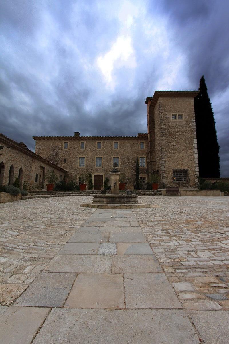 France, Provence, Haut Var, Château de Berne, hors saison.