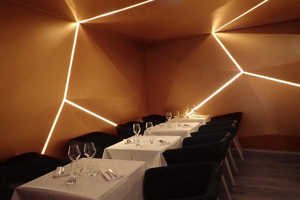 France, Paris, Saint-Germain des Prés, Boutary, restaurant bar à Caviar.