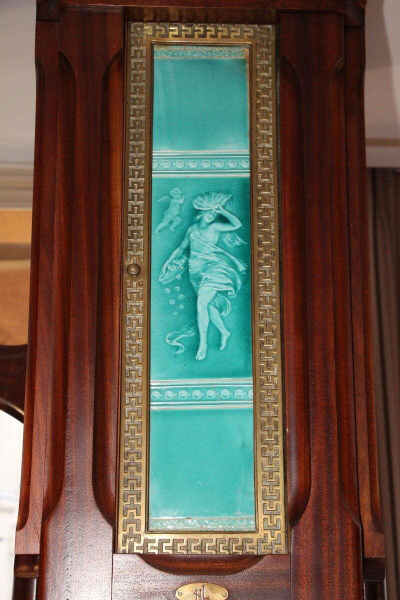 Avignon, Hiely-Lucullus. Céramique turquoise.