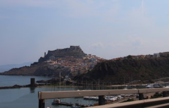 Italie, Sardaigne, Castelsardo, citadelle.