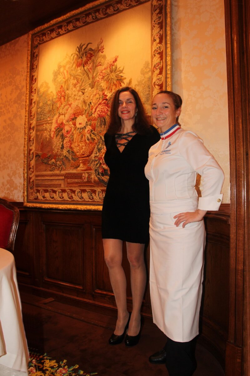 France, Côte d'Azur, French Riviera, Nice, Hôtel Negresco, le Chantecler, deux étoiles Michelin, Virginie Basselot, chefffe cuisinier, MOF, Amélie.
