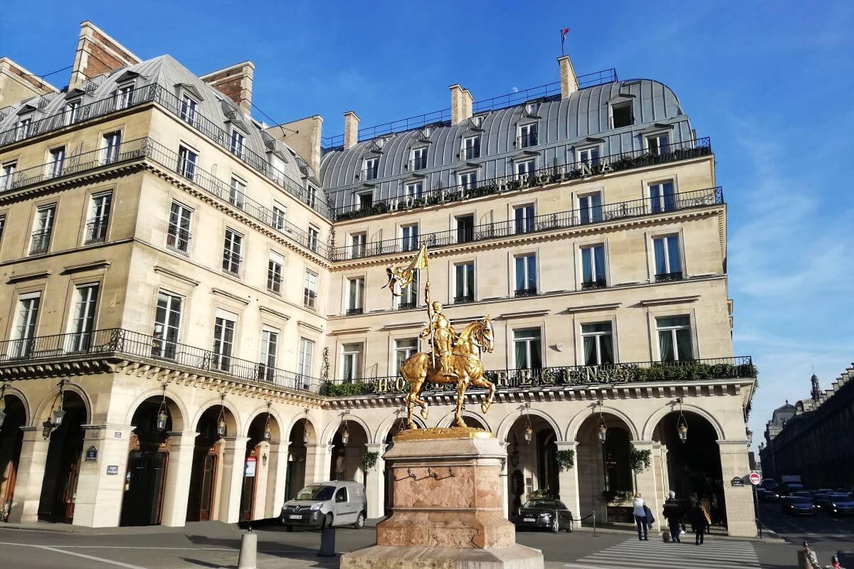 France, Paris, palace hôtel Le Régina, place des Pyramides, Baverez.