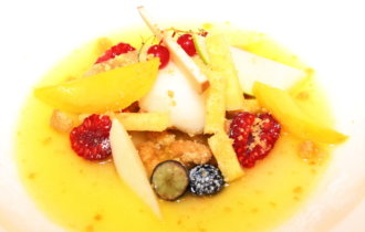 Italie, Ligurie, Riviera dei Fiori, restaurant, Michelin, La Conchiglia, Giaccomo Ruffoni, Loris Dolzan, A tavola con l'olio nuovo, oliva tagiasca. 5 F